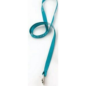 "1/2"" Flat Polyester Lanyard with 10 Business Day Production Time"